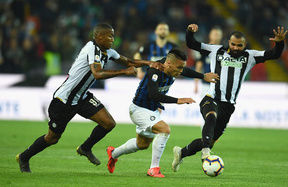 Inter have chances but can't find the back of the net: it finishes 0-0 in Udine