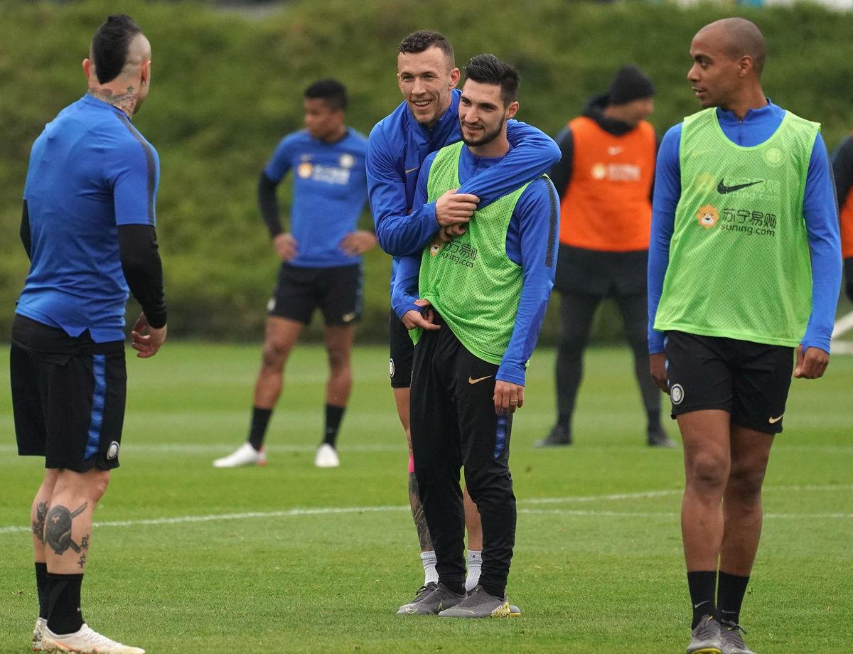 Palestra e partitelle: squadra al lavoro verso Inter-ChievoVerona