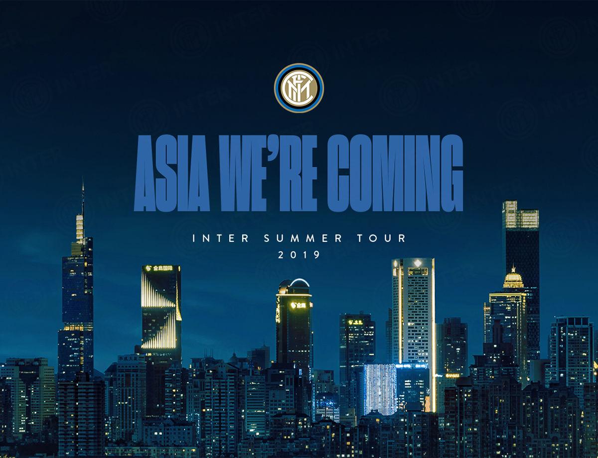 """""""我们是如此期待亚洲之旅,球迷们的兴奋之情已经爆棚"""""""