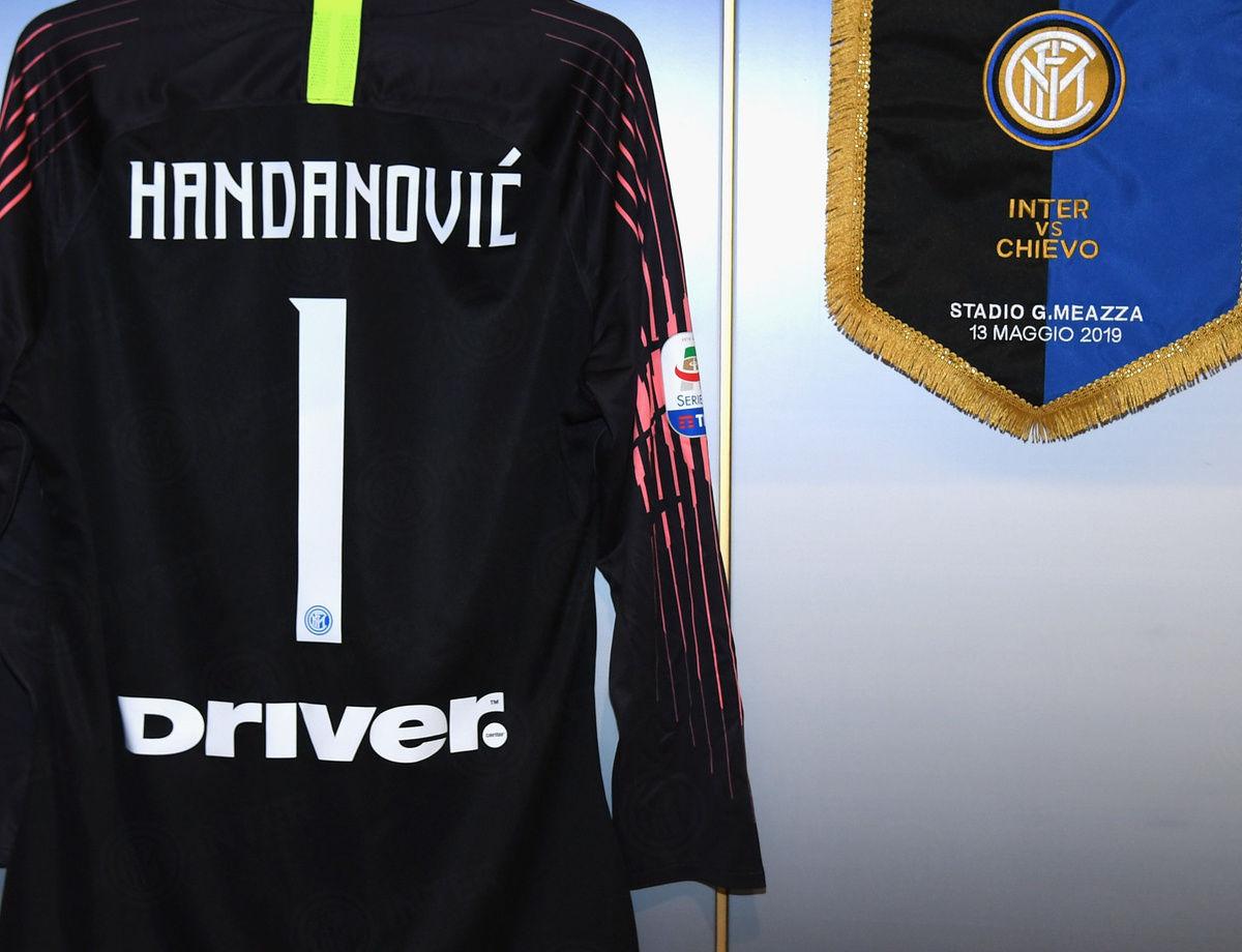 Susunan pemain laga Inter vs. ChievoVerona