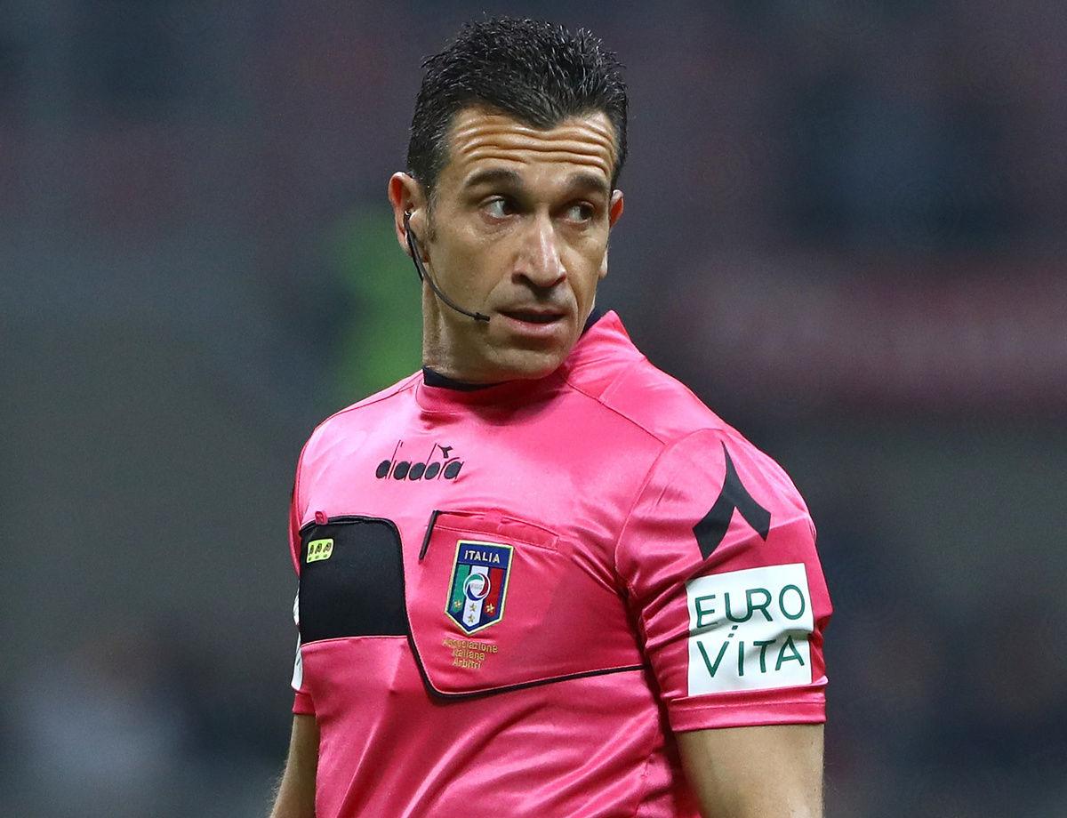 Sarà Doveri l'arbitro di Napoli-Inter