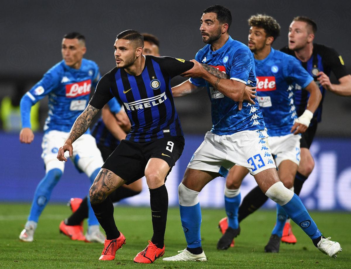 Inter kalah telak dari Napoli, 4-1 di San Paolo