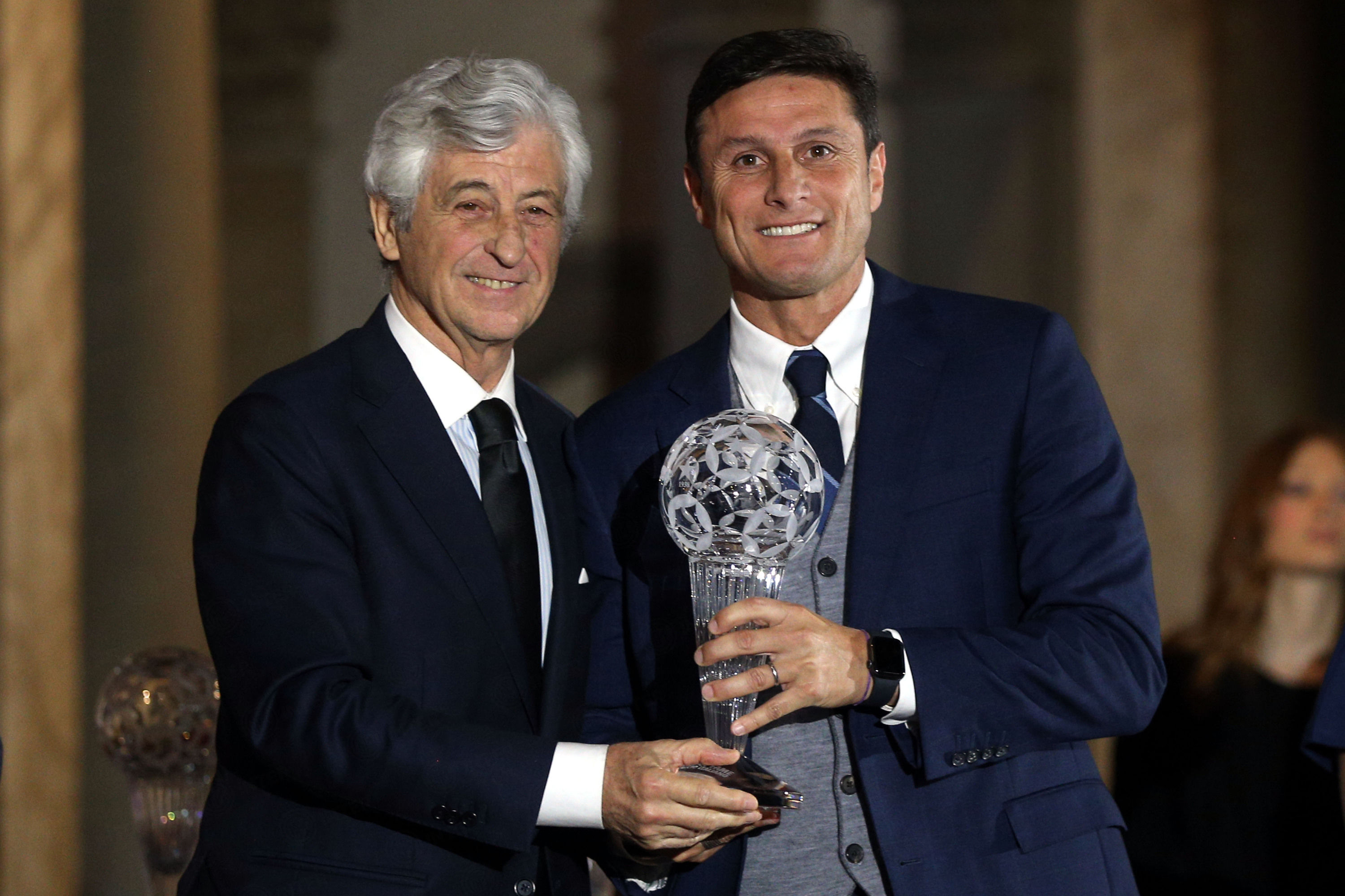Javier Zanetti masuk Football Hall of Fame Sepak Bola Italia