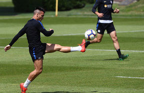 Heading towards Inter vs. Empoli: Gym, ball possession and technical work