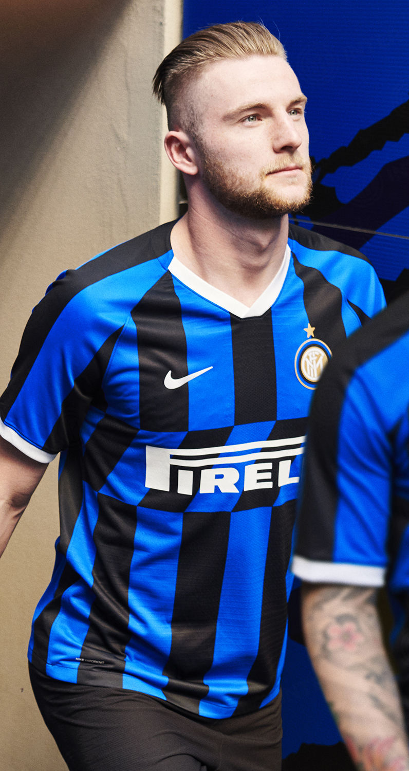Break lines, make dreams: the new Nerazzurri shirt