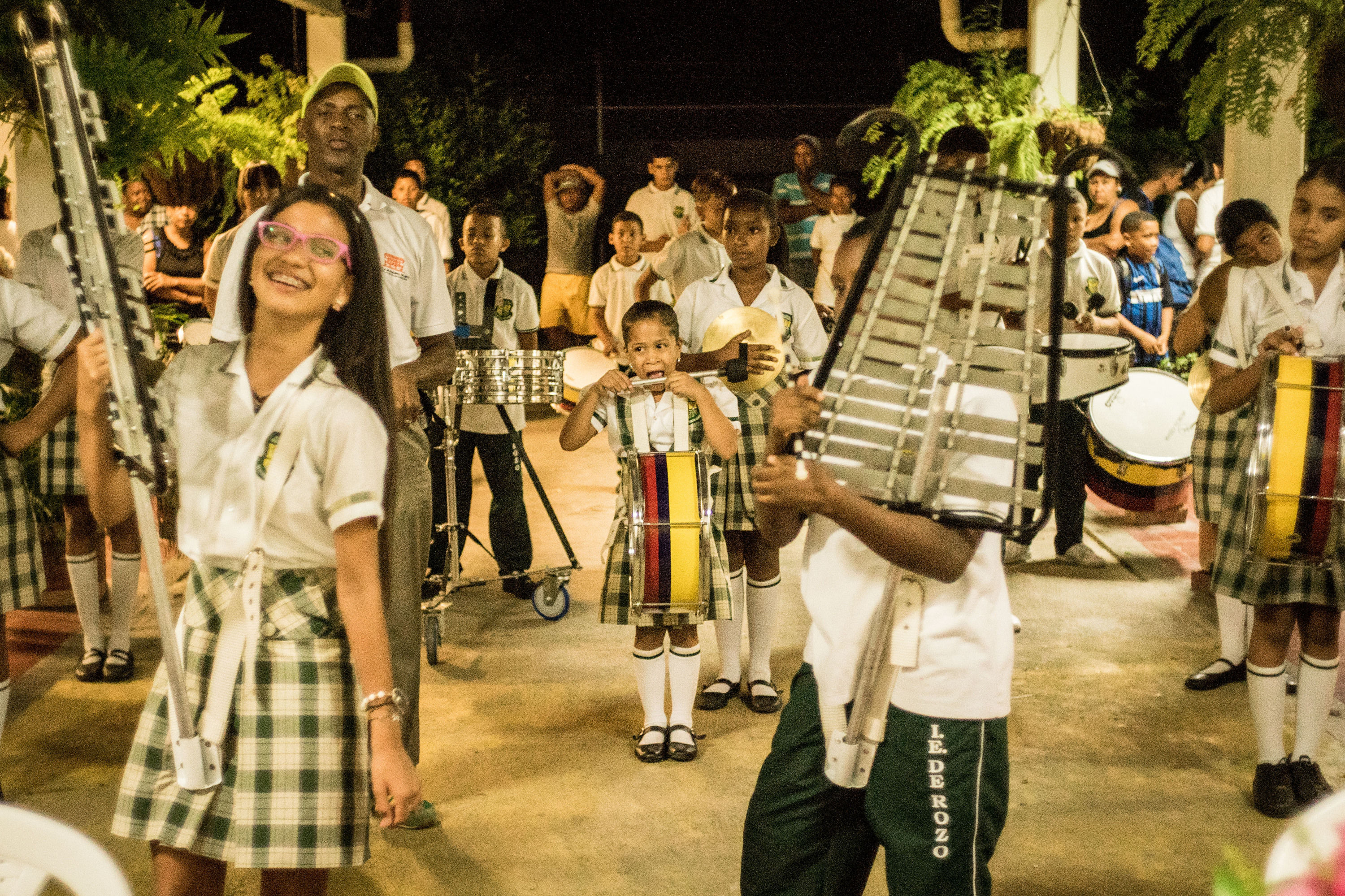 Inter Campus Colombia and the sound of drums
