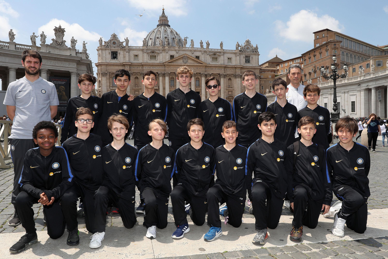 """""""Il calcio che amiamo"""": Inter and the BUU campaign in Vatican City"""