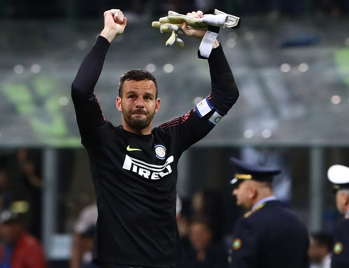 "Handanovic: ""We're deservedly in the Champions League"""
