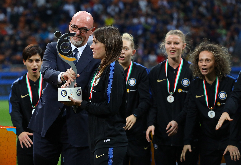 The Meazza congratulates Inter Women
