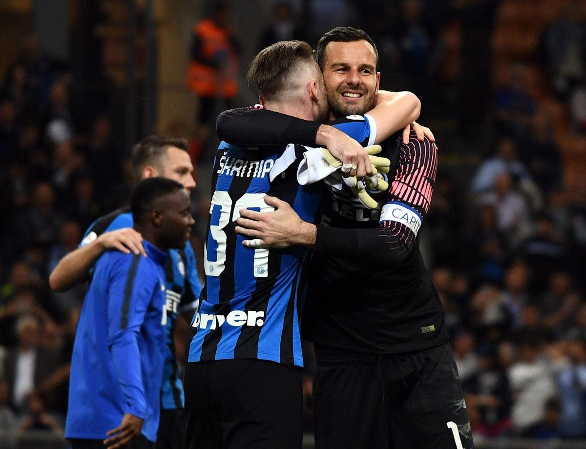 Man of the match Inter vs. Empoli adalah...