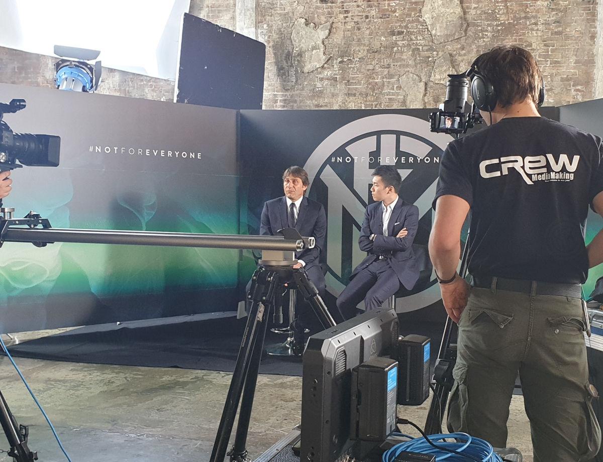 Inter, lintervista di Steven Zhang per la presentazione di Antonio Conte