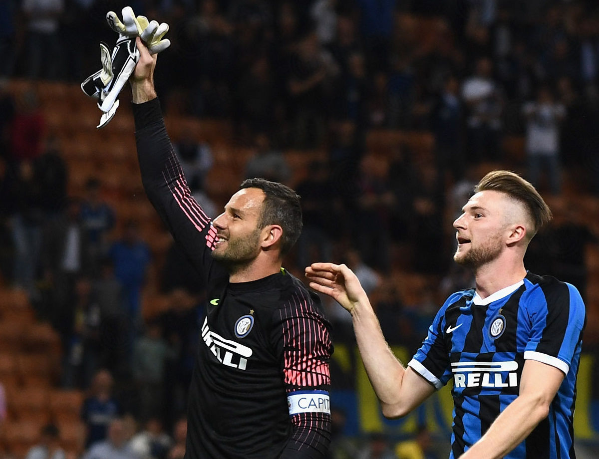 INSTAGRAM QUIZ - Handanovic first for minutes played