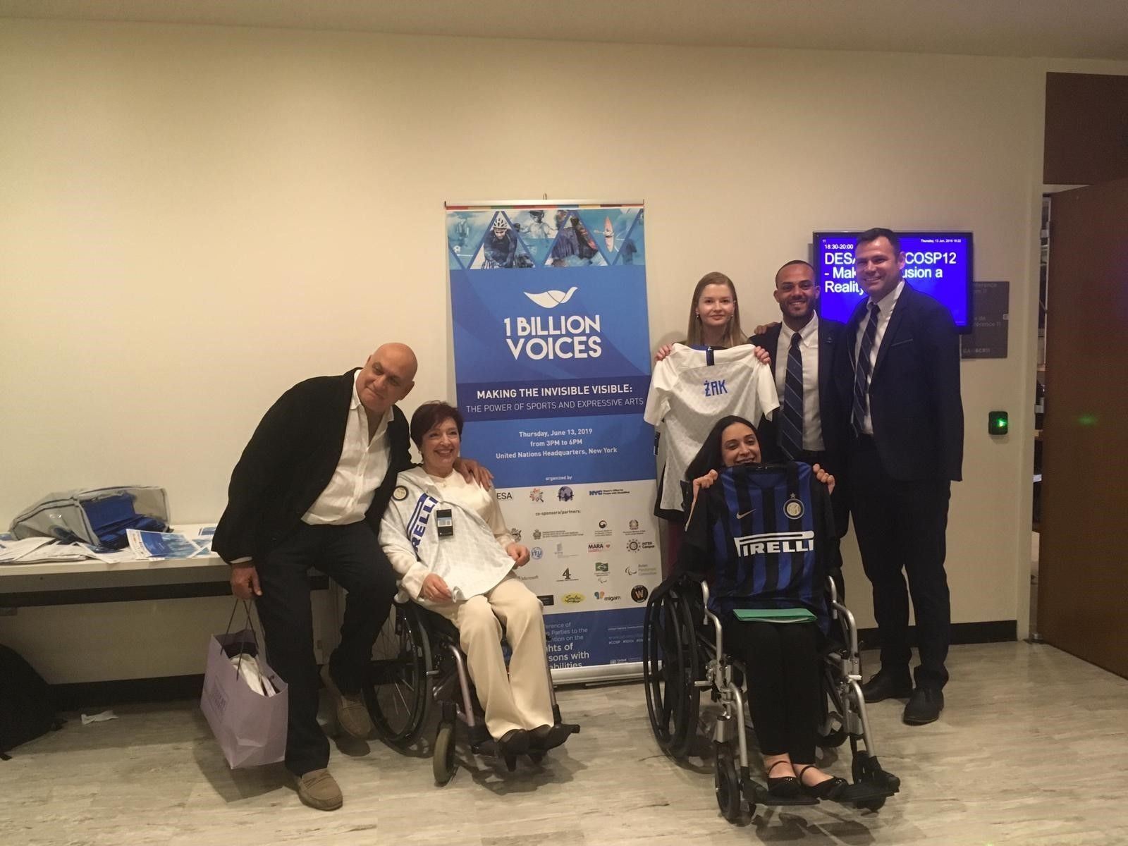 Sport and disability, Inter Campus at the UN