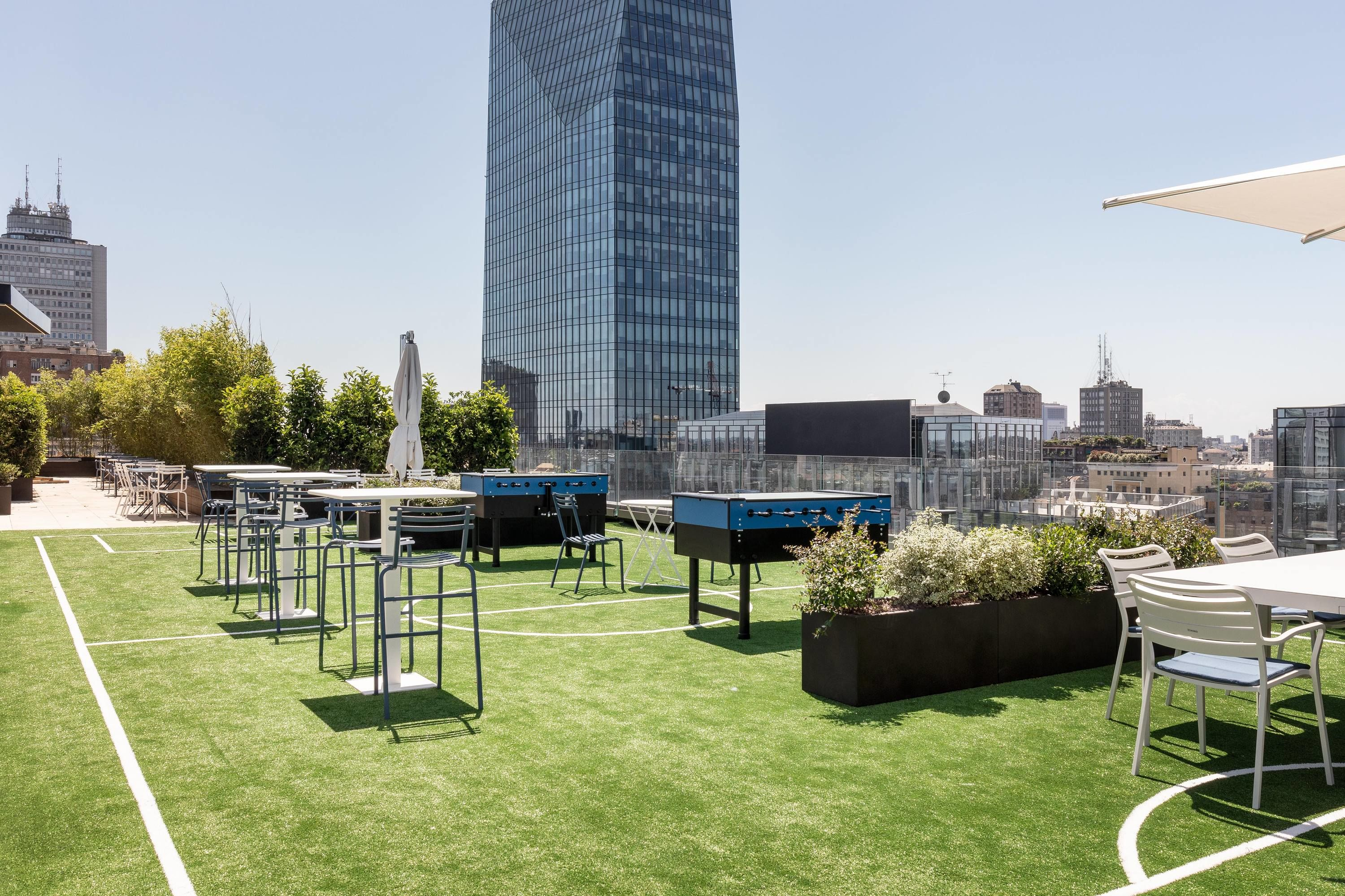 "New Club HQ opens in the ""innovation district"" of Porta Nuova in Milan"