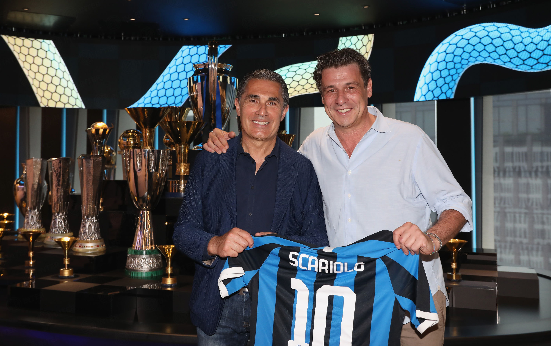Sergio Scariolo pays visit to the Nerazzurri's new headquarters