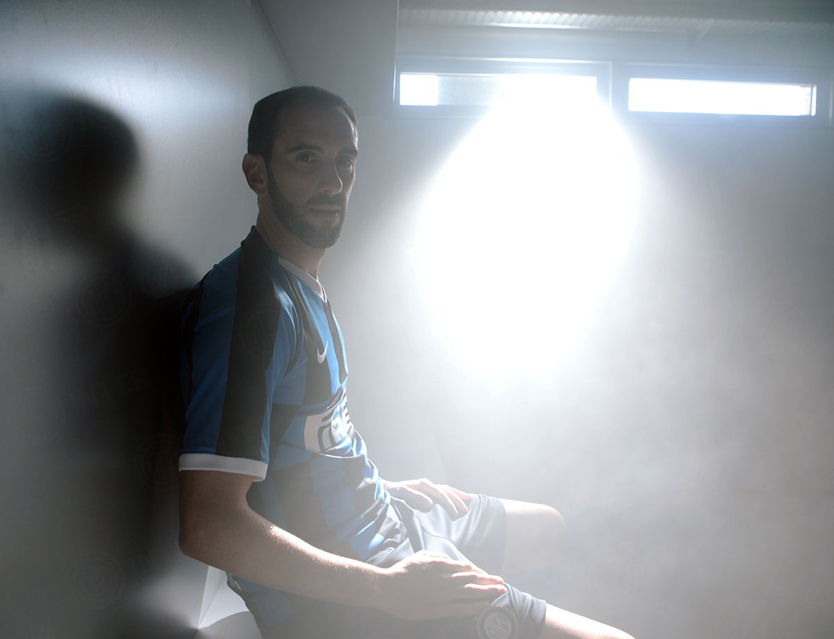 """Godin: """"An exciting challenge, I'm at Inter to give my all"""""""