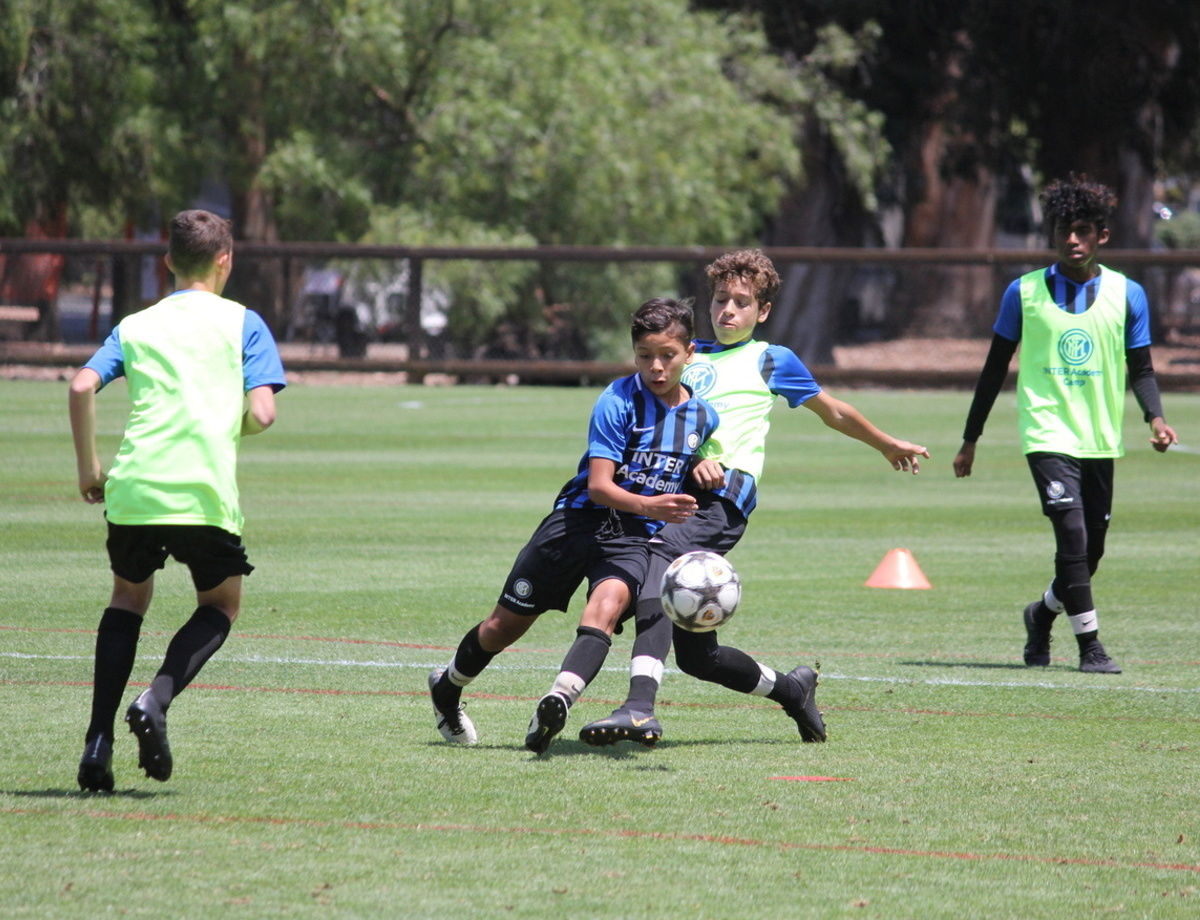 Inter visit Stanford University for the second year running