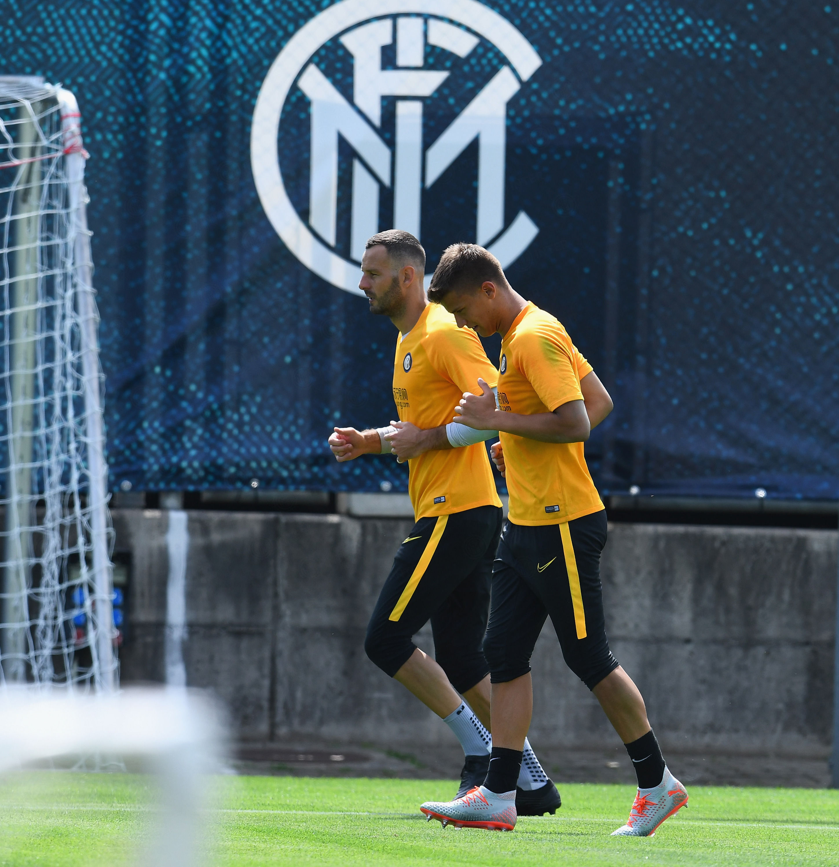 #Lugano2019, sesi latihan perdana Nerazzurri musim ini