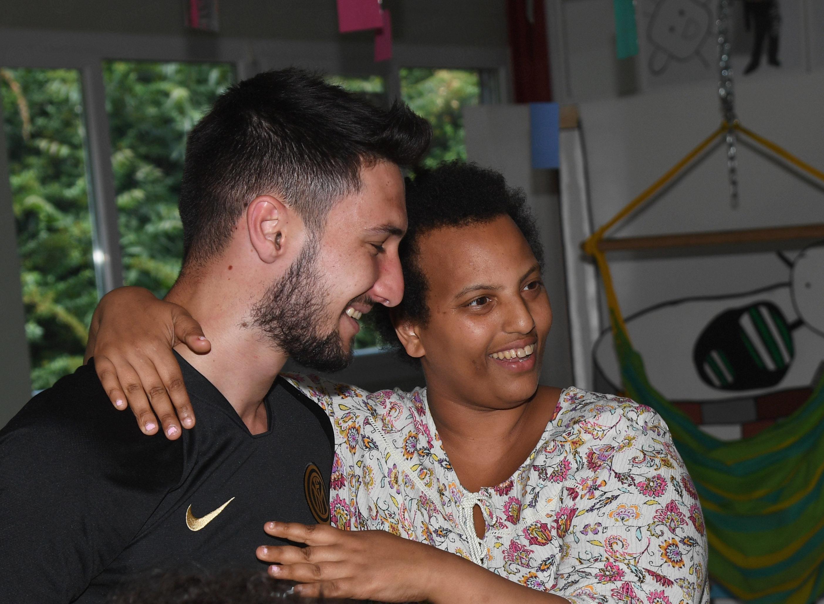 Padelli and Politano visit the OTAF in Sorengo