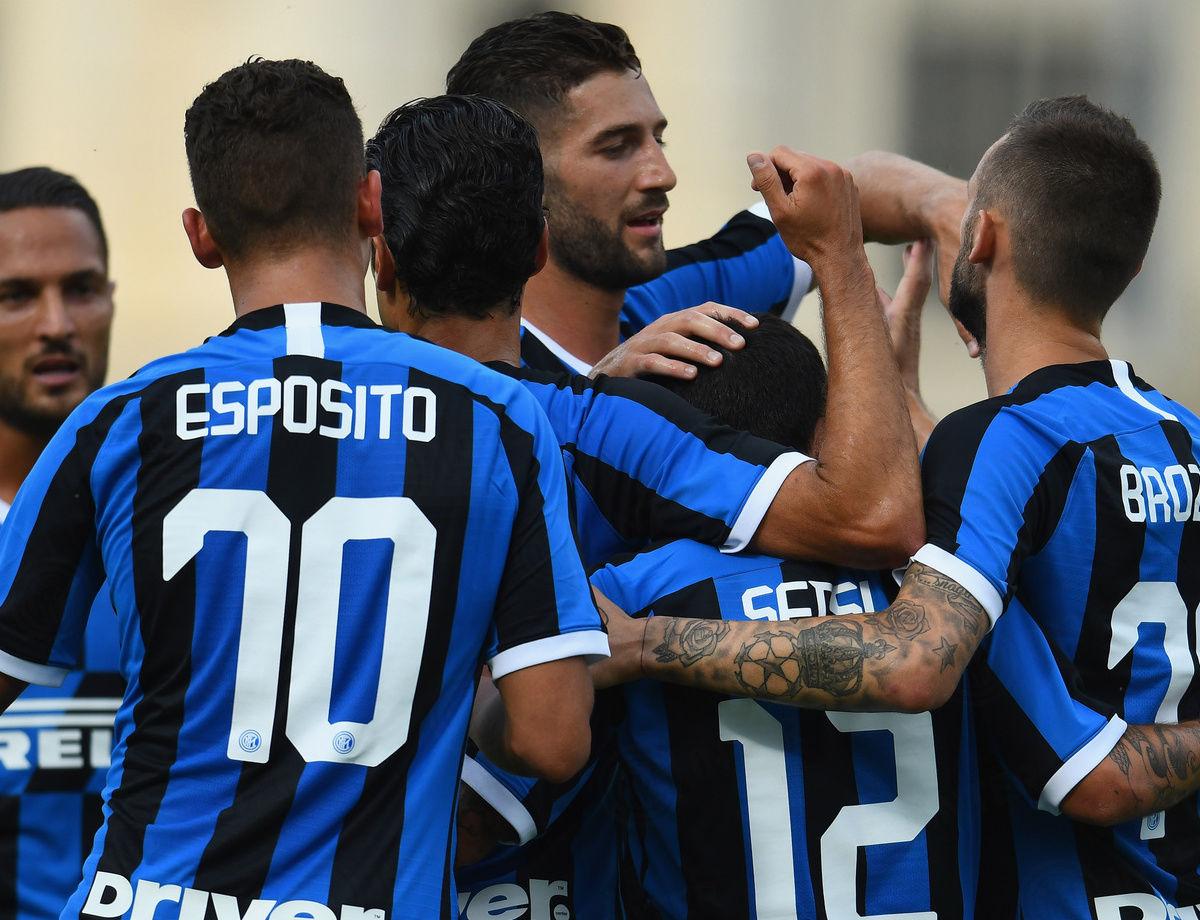 Casinò Lugano Cup: Sensi dan Brozovic cetak gol saat Inter kalahkan Lugano 2-1