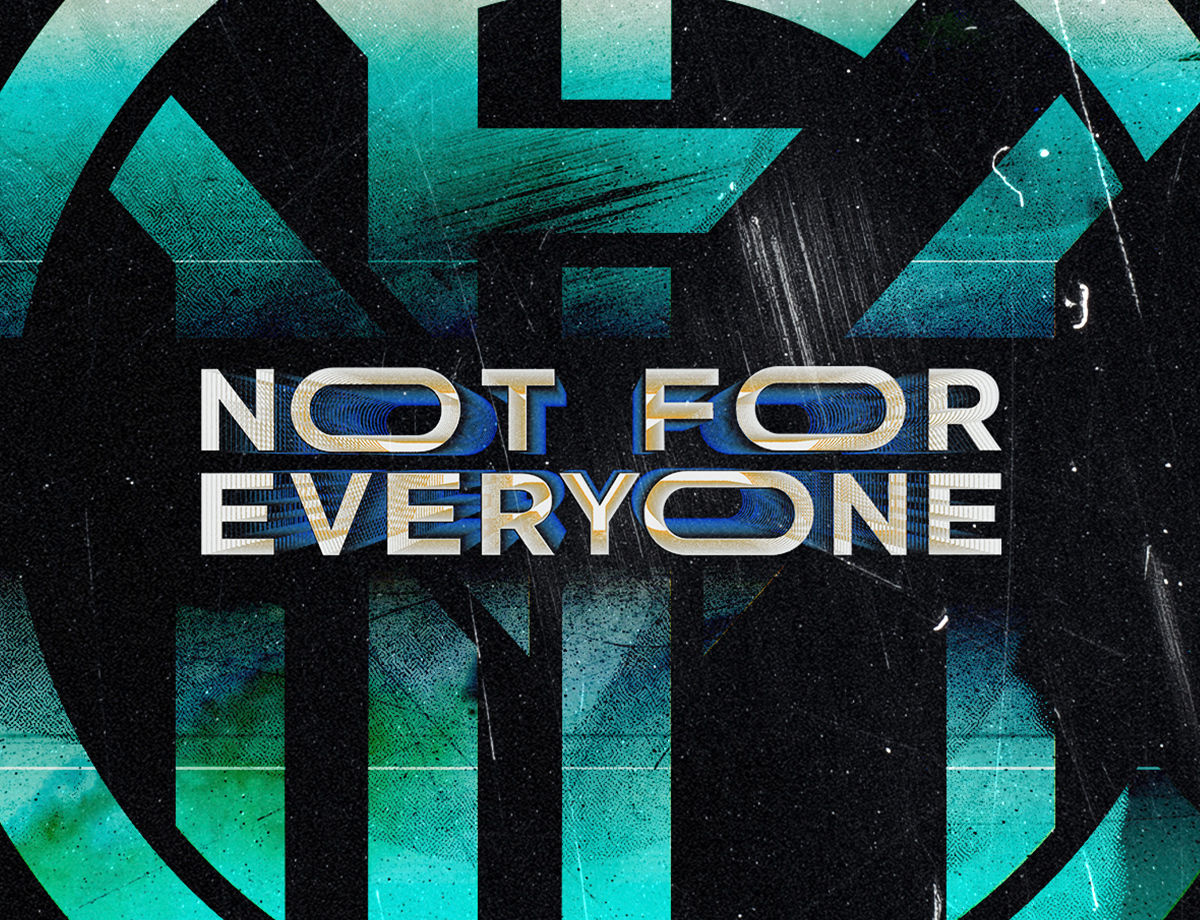 "Inter is ""Not For Everyone"""