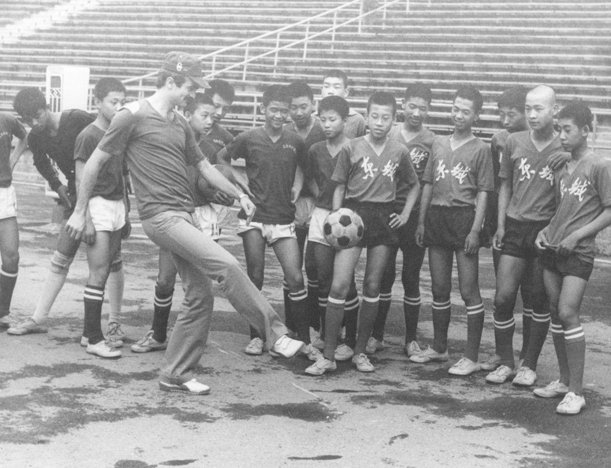 L'Inter in Cina, la prima volta nel 1978