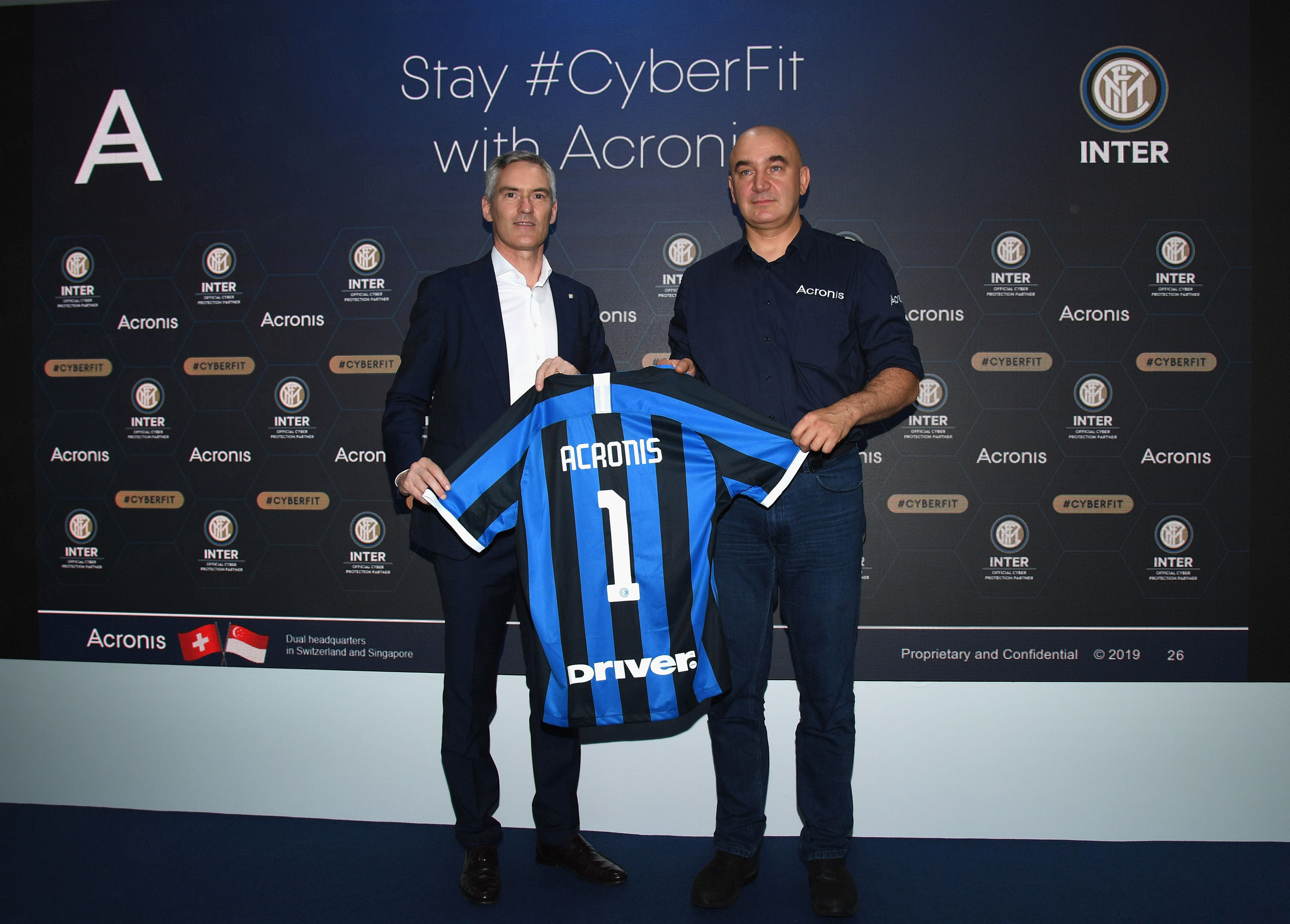 Cyber Protection: nasce la partnership tra Inter e Acronis
