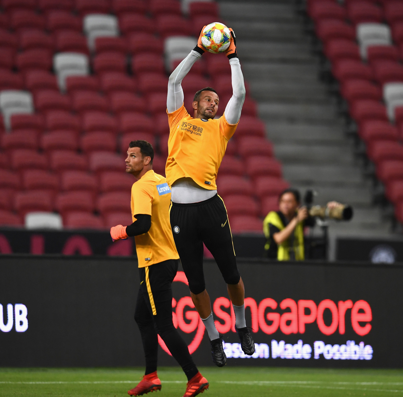 #InterOnTour:シンガポール・ナショナルスタジアムで最終調整