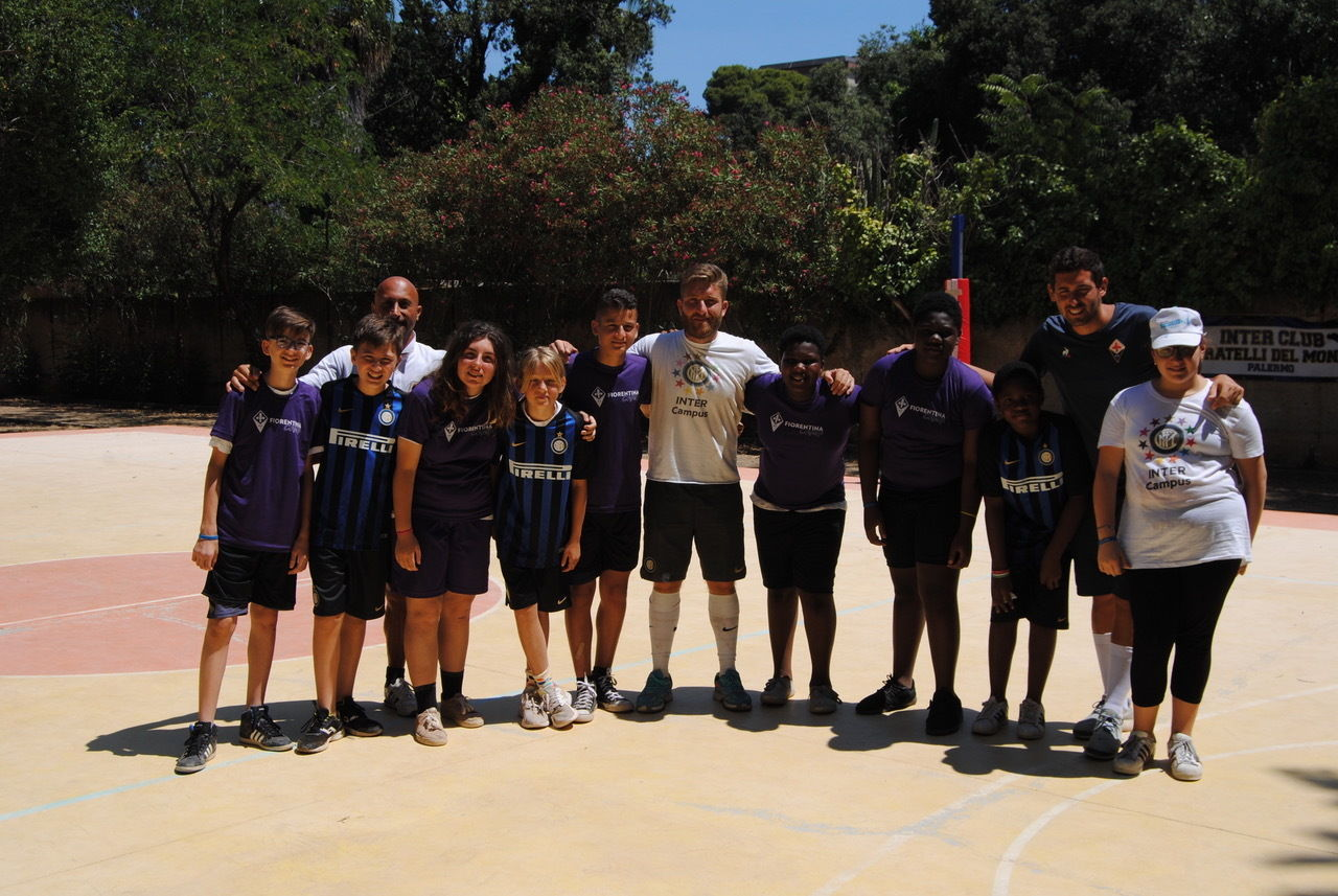 Inter and Fiorentina together at Beyond Lampedusa