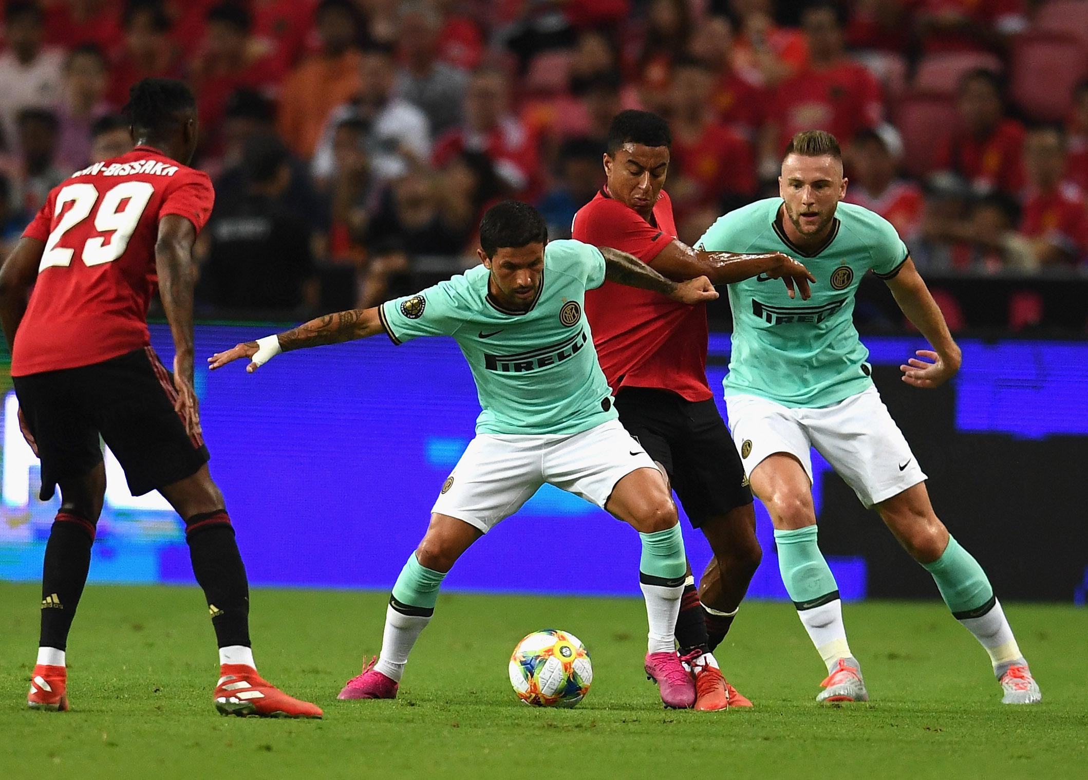 ICC 2019, el recuento fotográfico del Manchester United vs. Inter