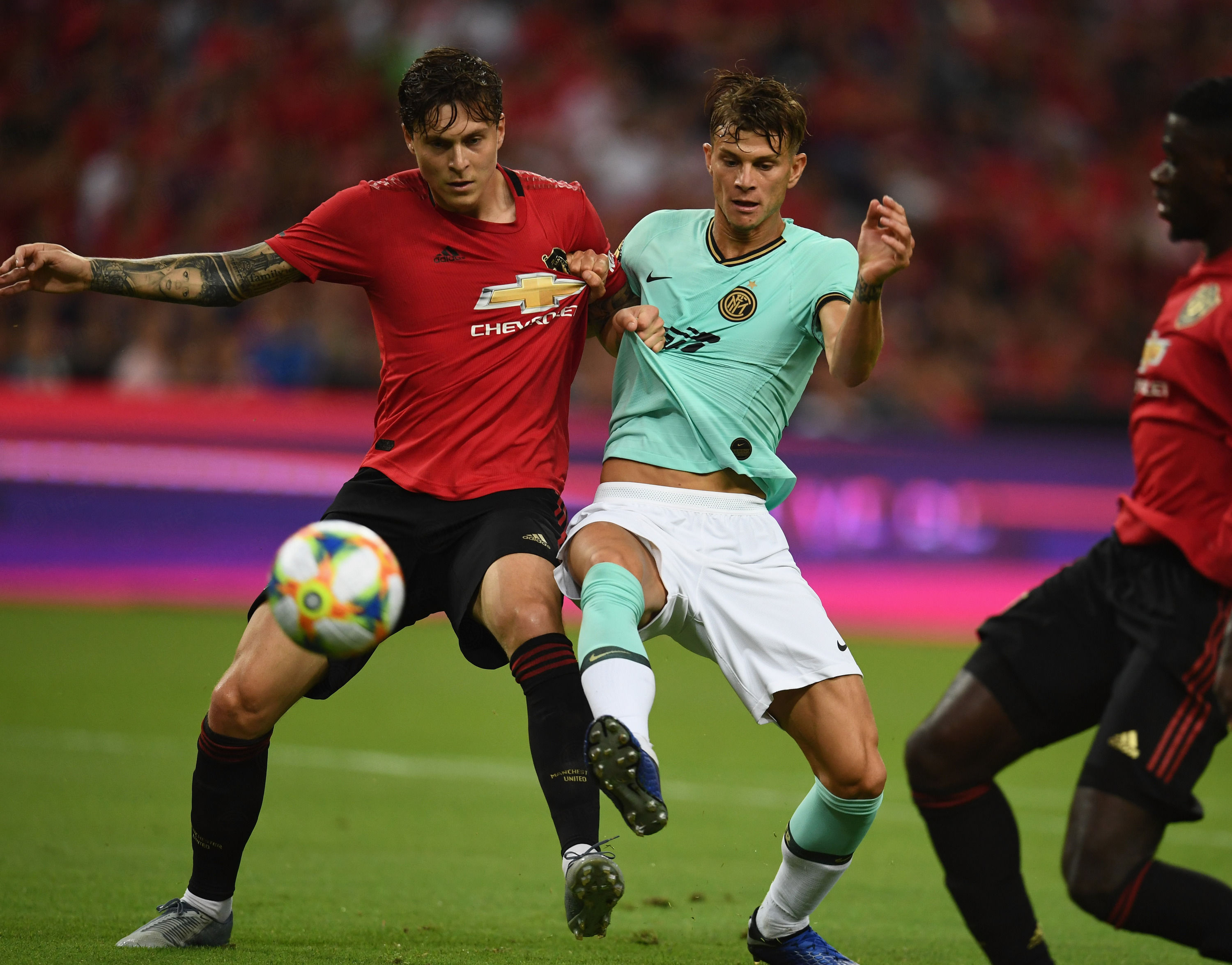 ICC 2019, all the photos from Manchester United vs. Inter