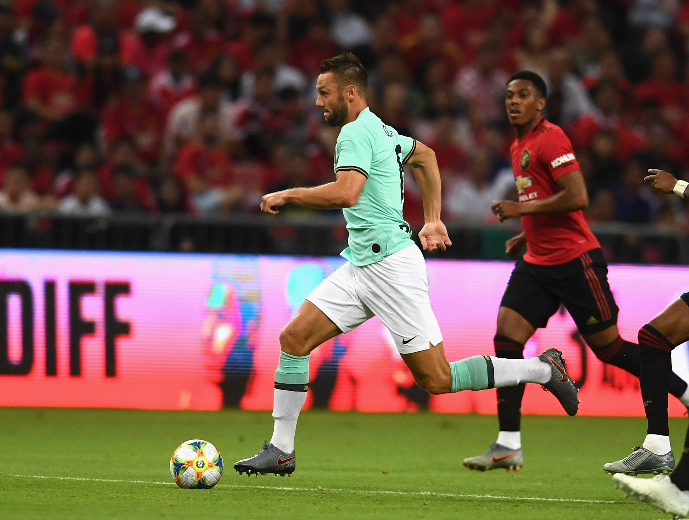 ICC 2019, semua foto Manchester United vs. Inter