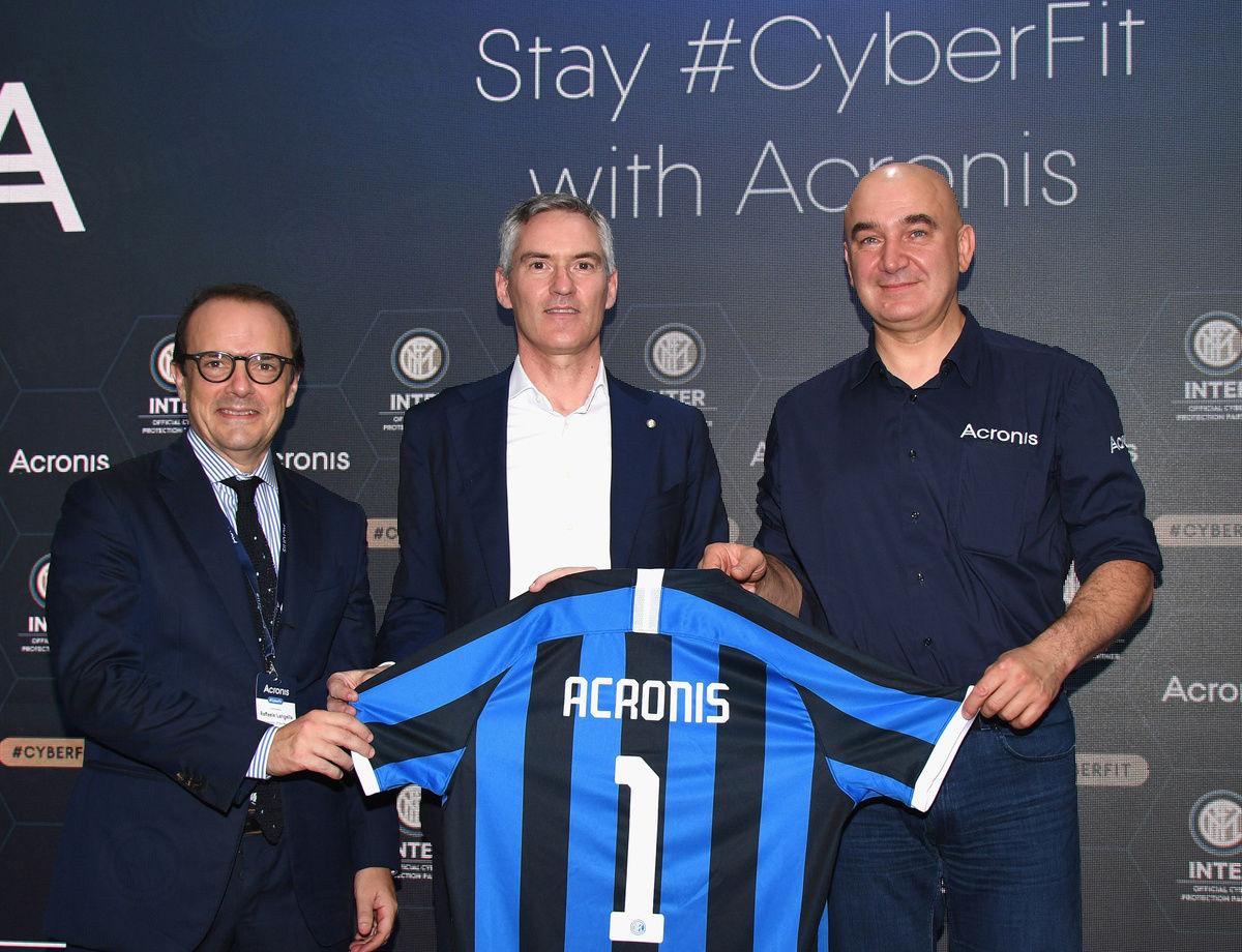 """Inter-Acronis, Antonello: """"Una partnership per il presente e per il futuro"""""""