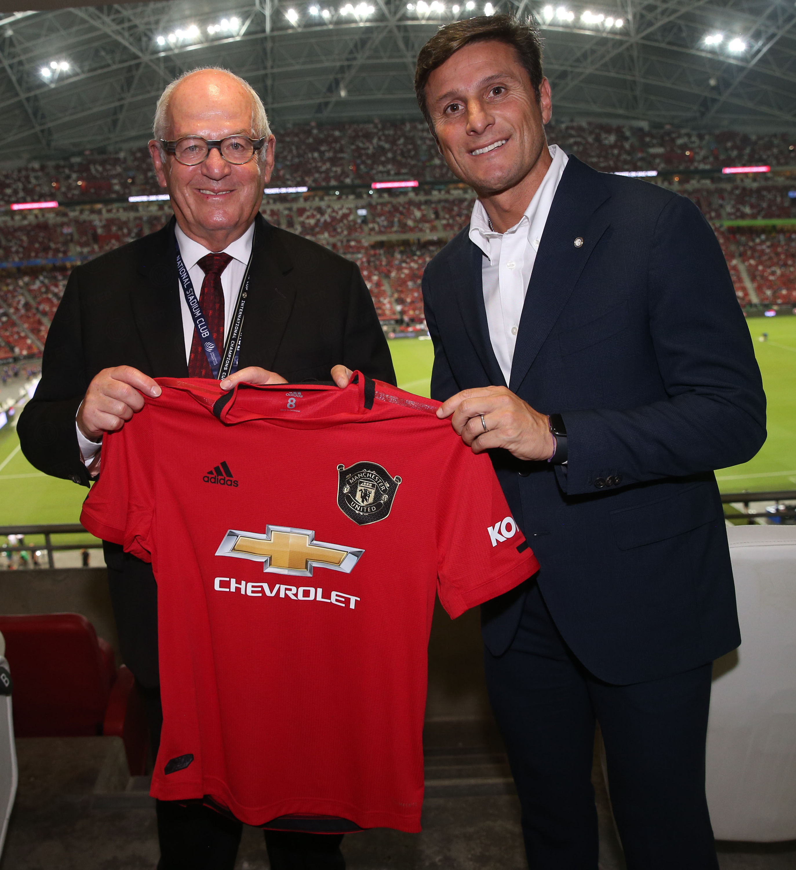 ICC 2019, Inter e Manchester United insieme a Singapore