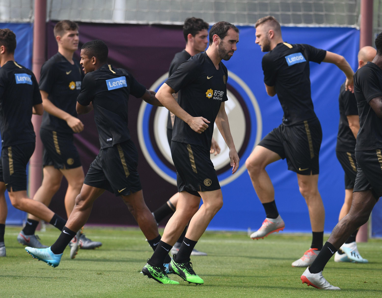 #InterOnTour: Latihan perdana Diego Godin bersama Inter