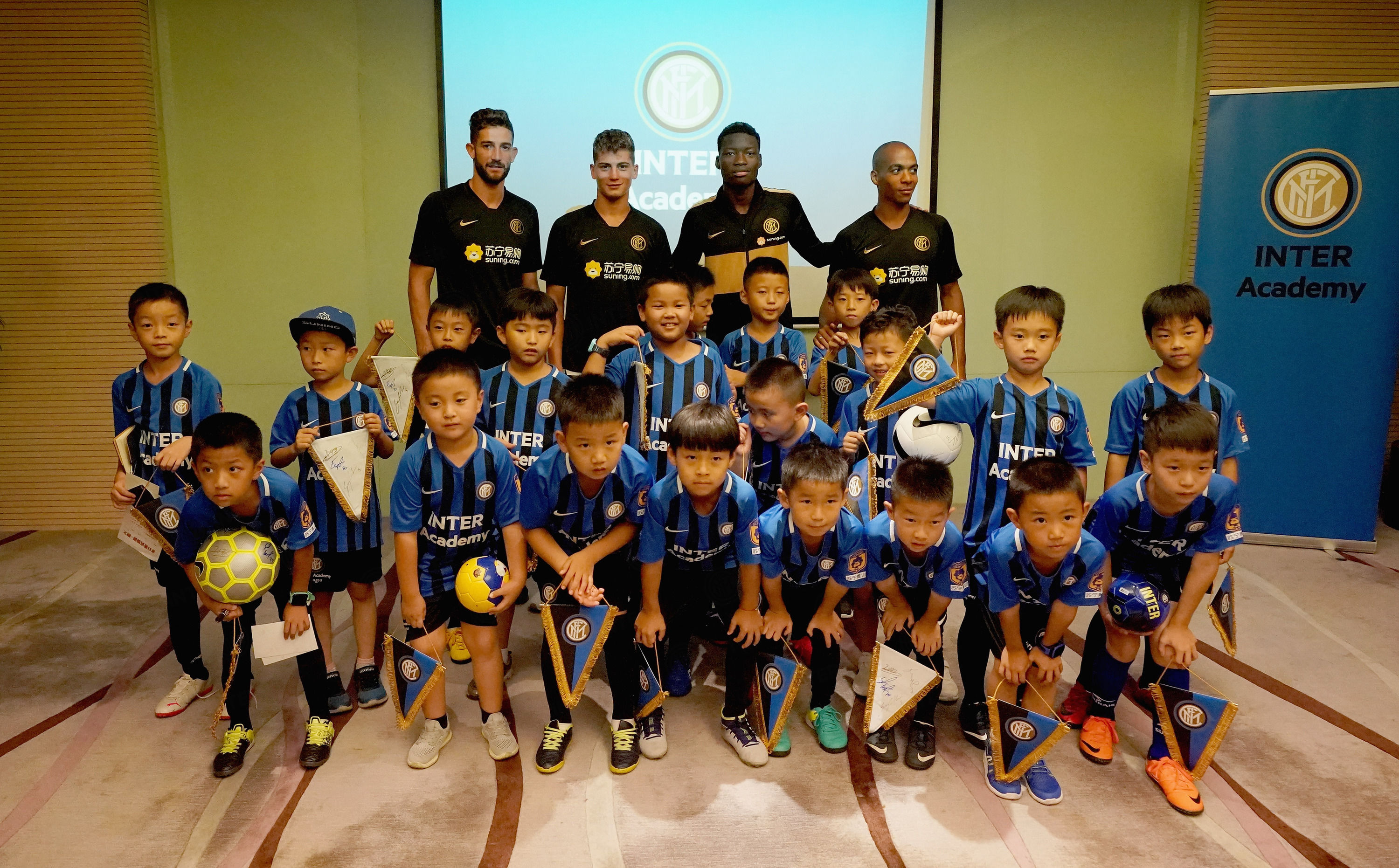 Meet&Greet with youngsters from Inter Academy Jiangsu