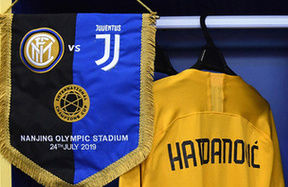 ICC 2019, the line-ups for Inter vs. Juventus
