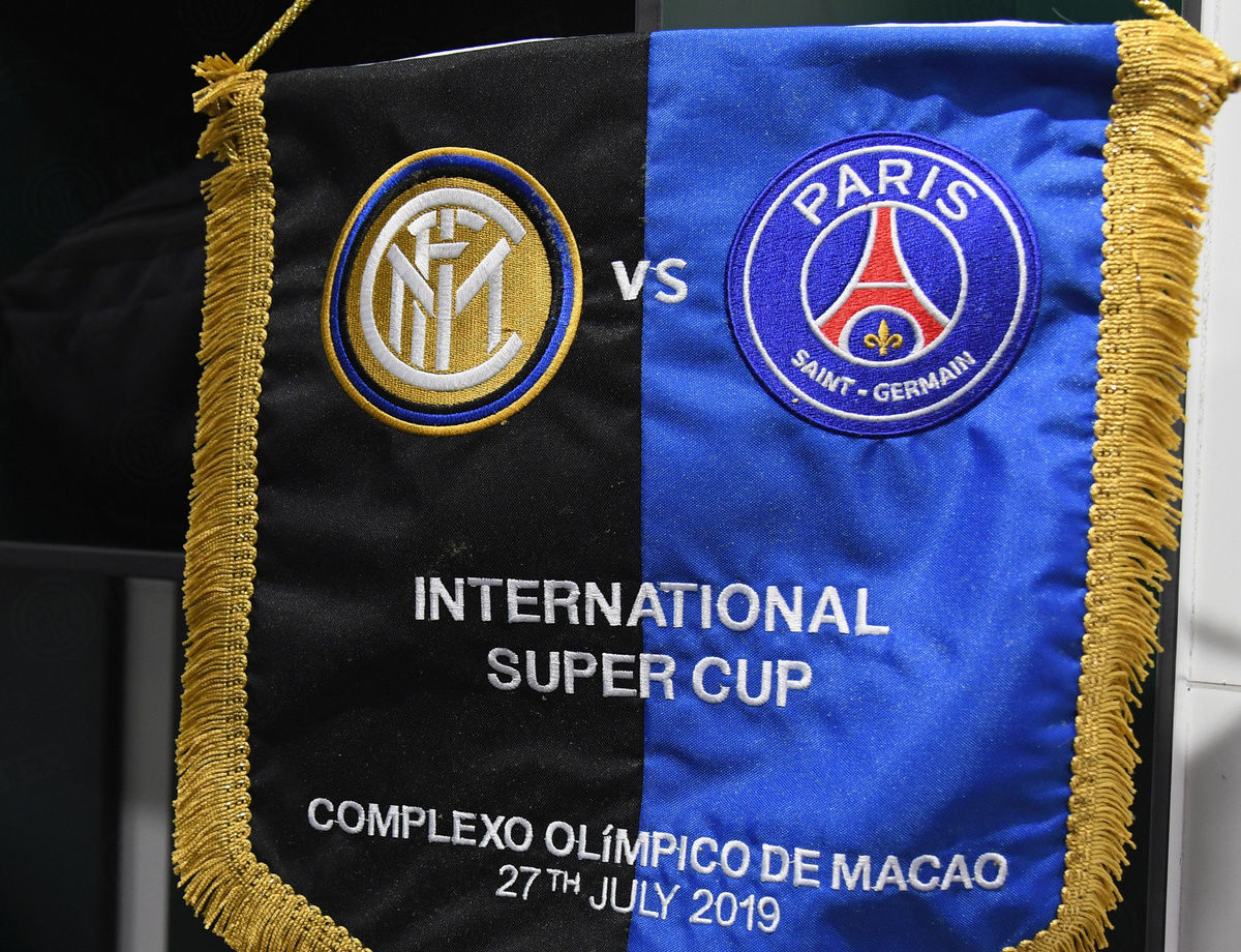 International Super Cup: The line-ups for Inter-PSG