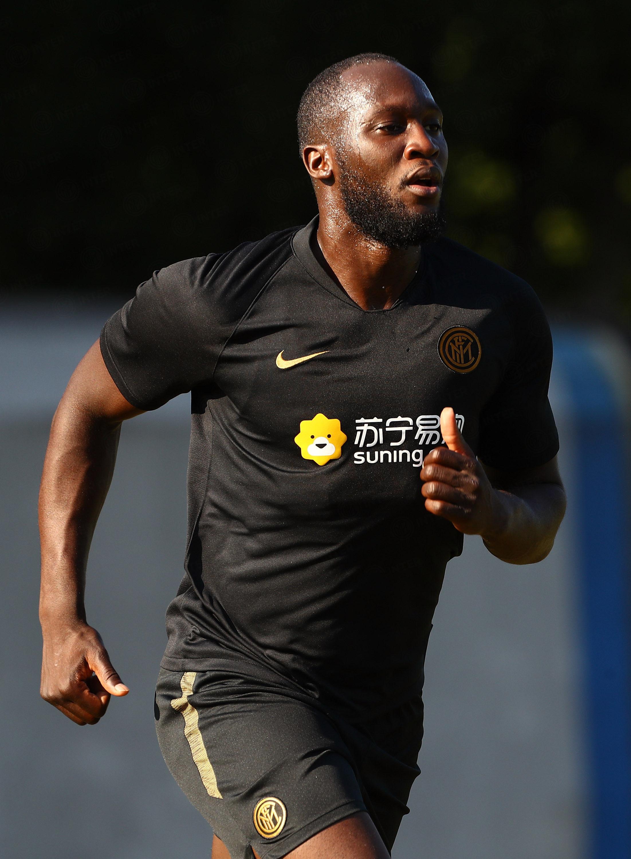 Romelu Lukaku at Inter, the first photos
