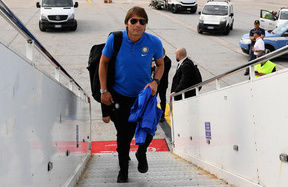 Inter Summer Tour, the team arrive in Valencia