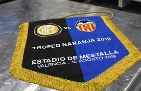 Trofeo Naranja, the line-ups for Inter vs. Valencia