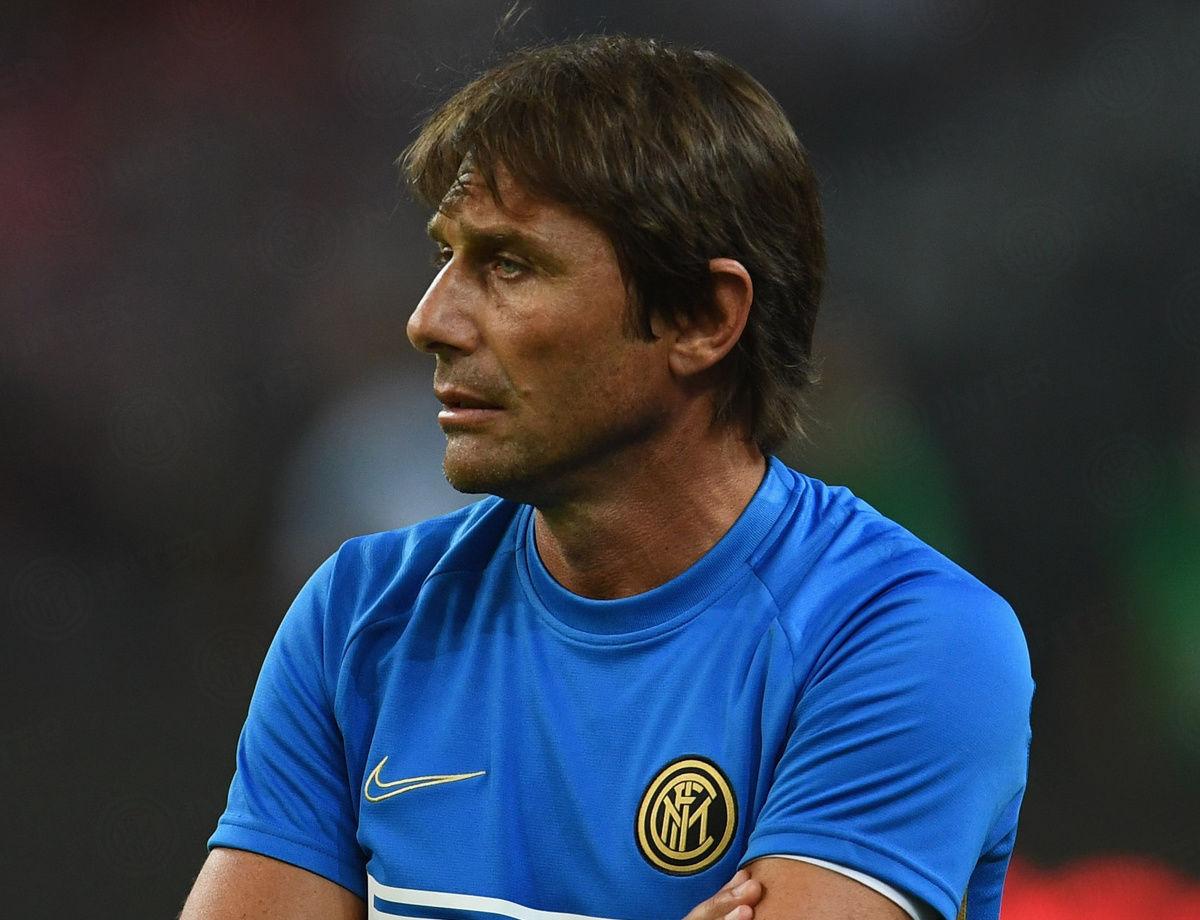 Inter vs. Lecce, waktu konferensi pers Antonio Conte