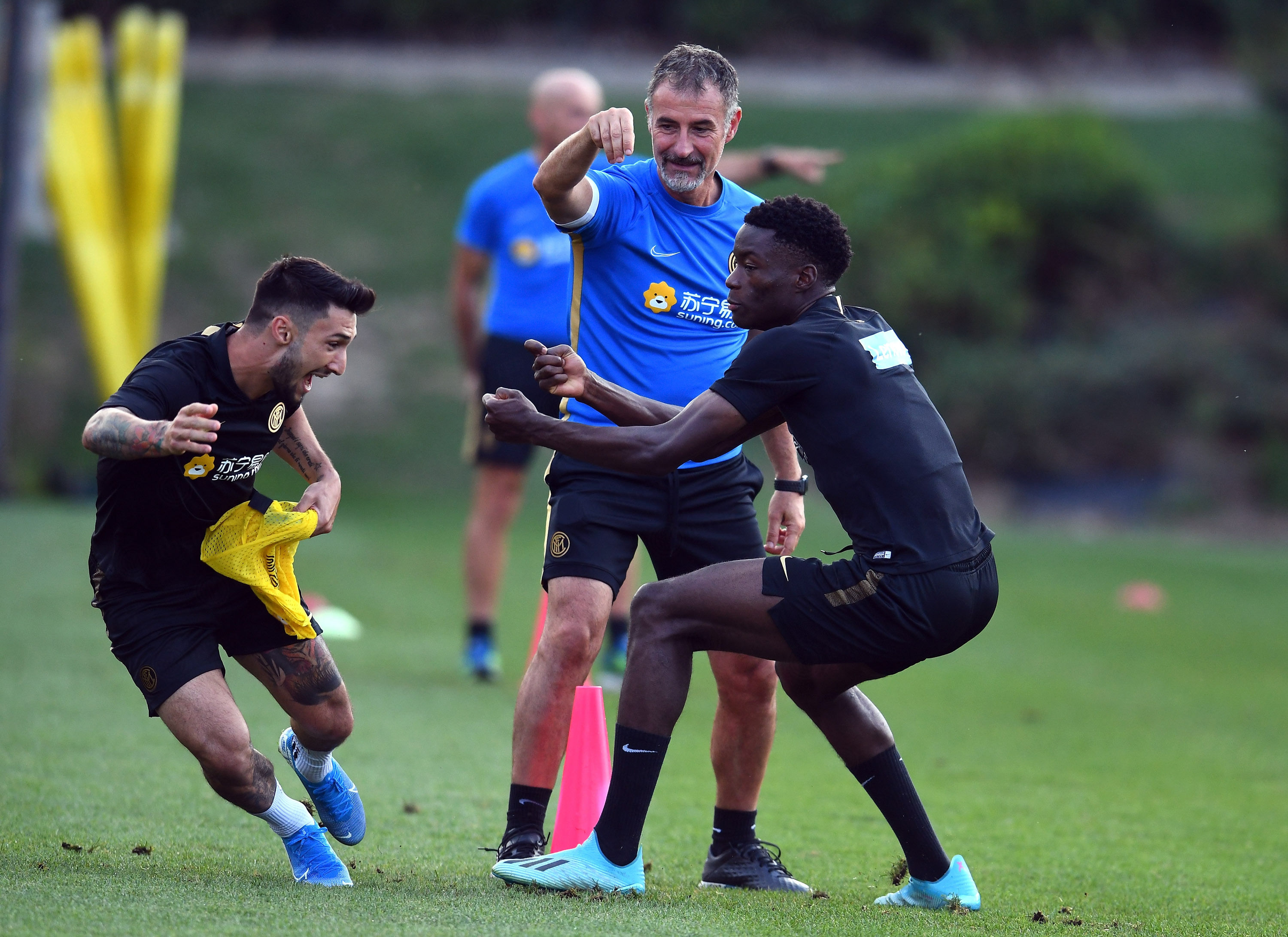 Preparation continues ahead of Inter vs. Lecce