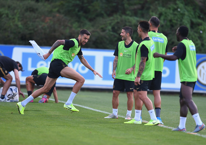 Persiapan menjelang Inter vs. Lecce berlanjut