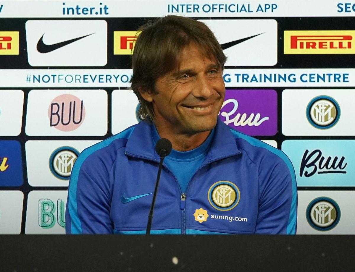 """Conte: """"Saya miliki ekspektasi tinggi, senang dengan apa yang sedang kami bangun"""""""