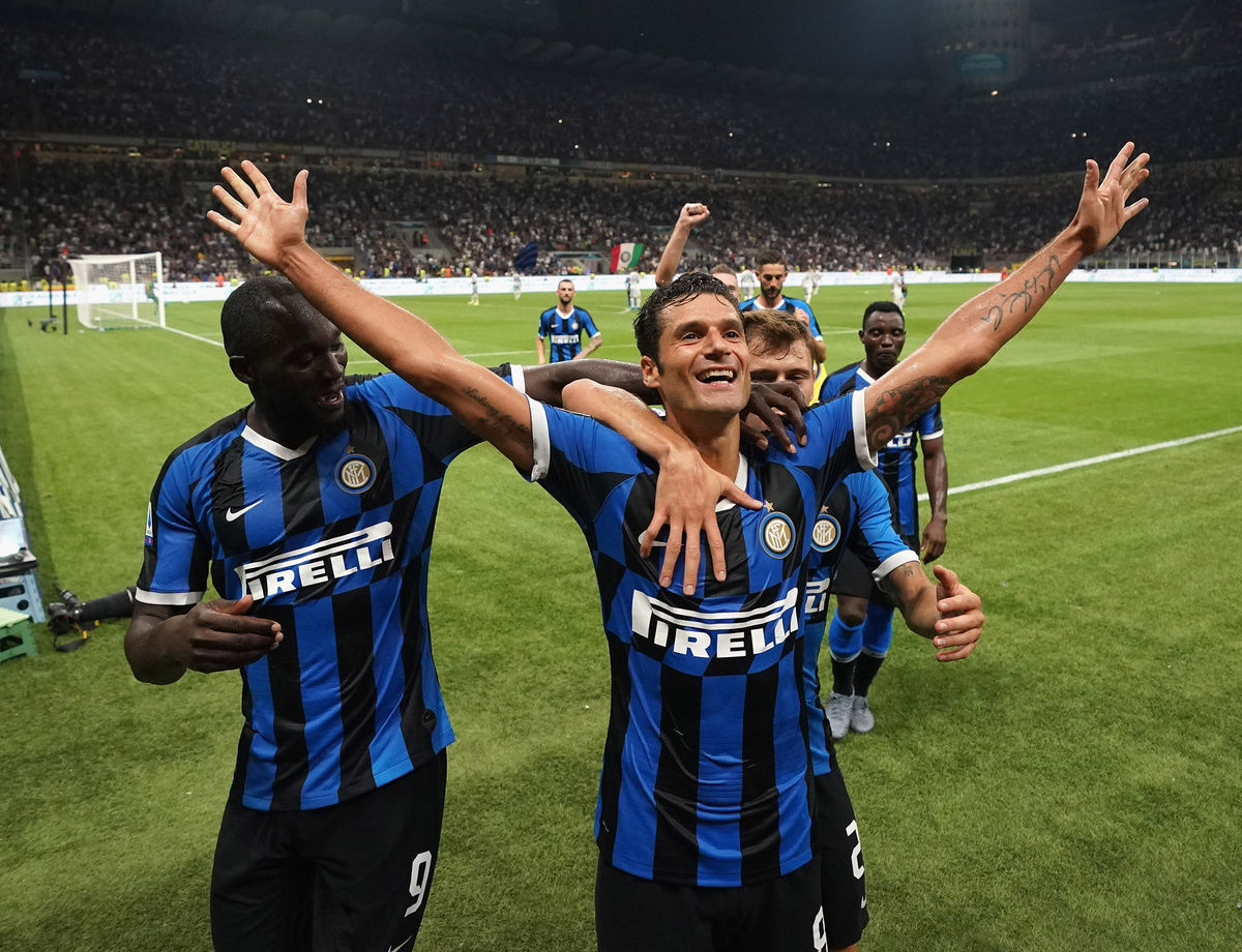 """Candreva: """"A great game! Let me tell you about the goal..."""""""