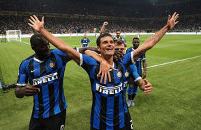 "Candreva: ""A great game! Let me tell you about the goal..."""