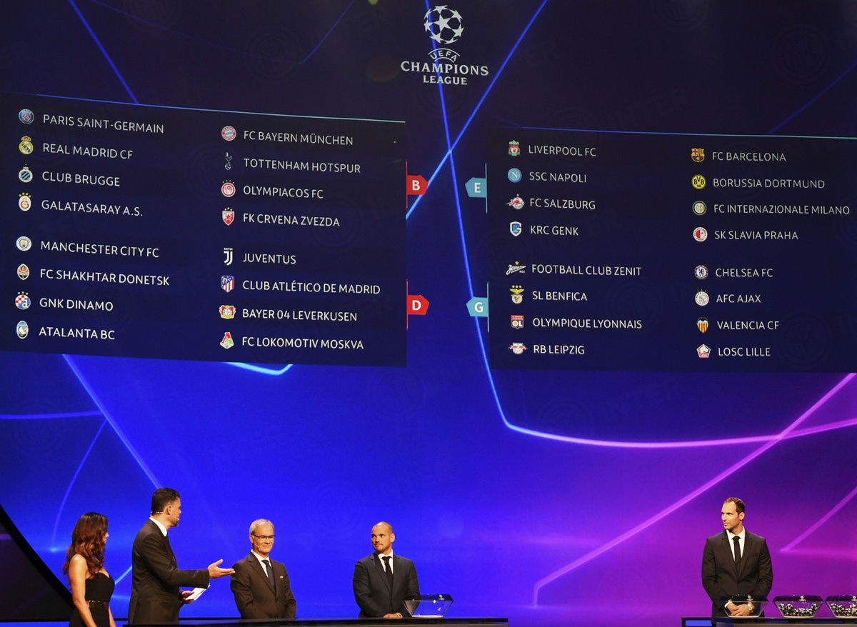 Calendario Uefa Champions League.Uefa Champions League 19 20 Il Calendario Dell Inter News