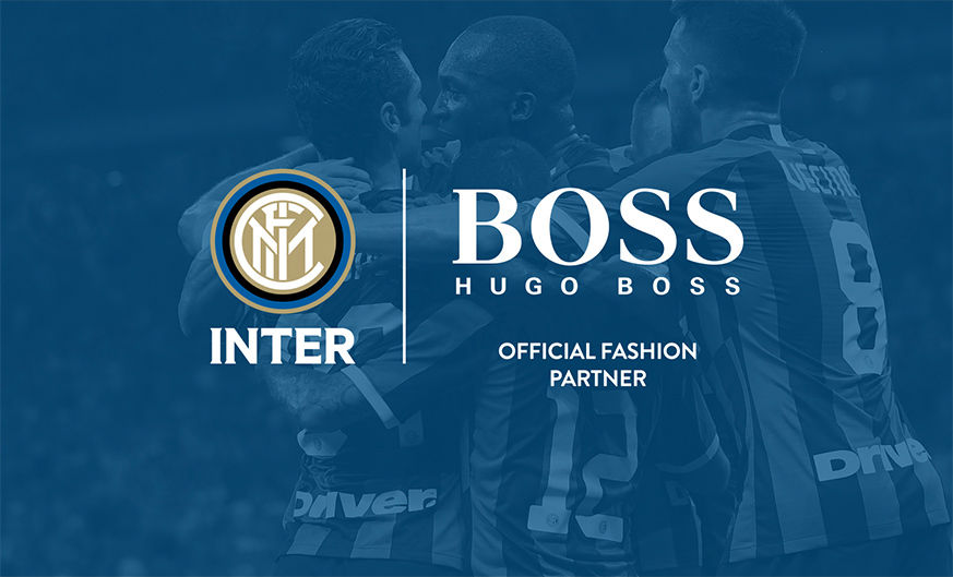 HUGO BOSS is now the official fashion partner of FC Internazionale Milano