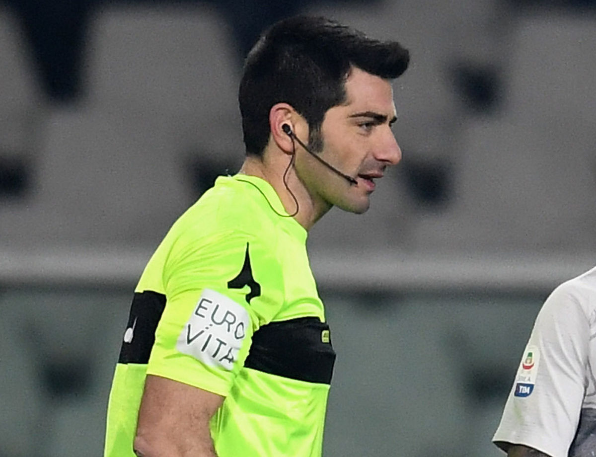 Change of referee for Cagliari vs. Inter: Maresca to officiate